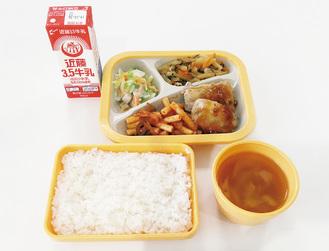 藤沢市が提供する中学校給食の一例