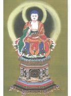 寺田さんが仏画展