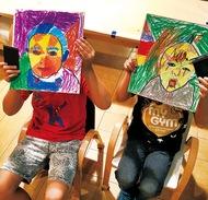 子ども英語アート