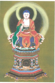「釈迦如来坐像」(早雲禅寺天嶽院所蔵)