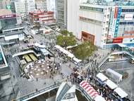 藤沢駅北口広場が一新
