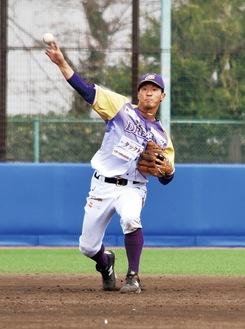 「野球人生をかけて挑みたい」と意気込む主将の青木颯選手