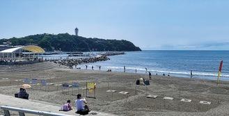 片瀬西浜(=8月28日)
