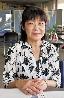 てづか・あけみ/住宅メーカー勤務を経てまちづくりに興味を持つ。機構の立ち上げから携わり、今年から理事長。69歳。