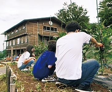二宮町の自然豊かな環境で学べる