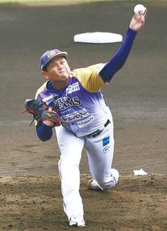 ホーム最終戦で7回2失点と好投した池田建人投手
