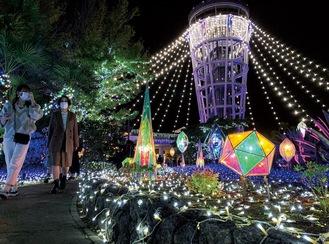 関東三大イルミネーションにも選ばれる「湘南の宝石」。3連休は観光客で賑わった