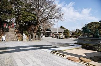 会場となる白旗神社