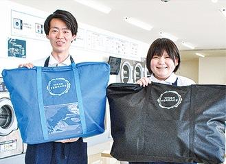 「時間と心のゆとりを作ります」同店の茂木さん、武藤さん