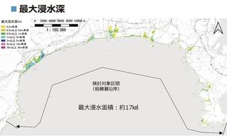 公表された広域図面(県提供)