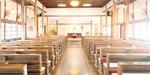 光の差し込む聖堂