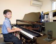 ピアノコンクールで3冠