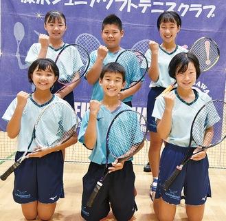 全国大会へ出場する(左上から時計回りに)中村さん、小島さん、鈴木さん、市川さん、佐藤さん、後藤さん