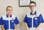 講座のきっかけを作った藤沢工場の梶川さん(左)と講師を務めた殿谷さん