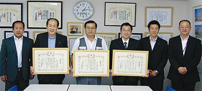赤十字 6団体を表彰