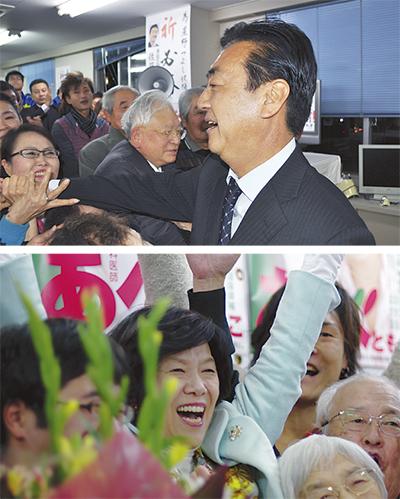 星野氏、阿部氏が当選
