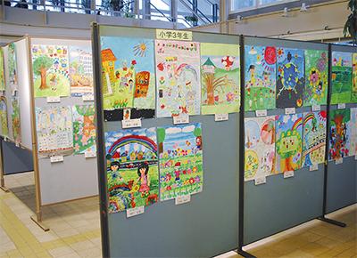 緑と花のポスター展