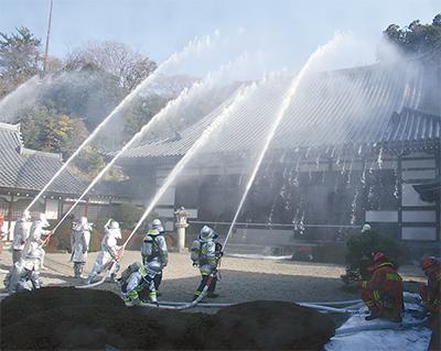 火災から文化財を守れ