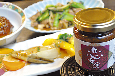 「たか亭」秘伝の味噌