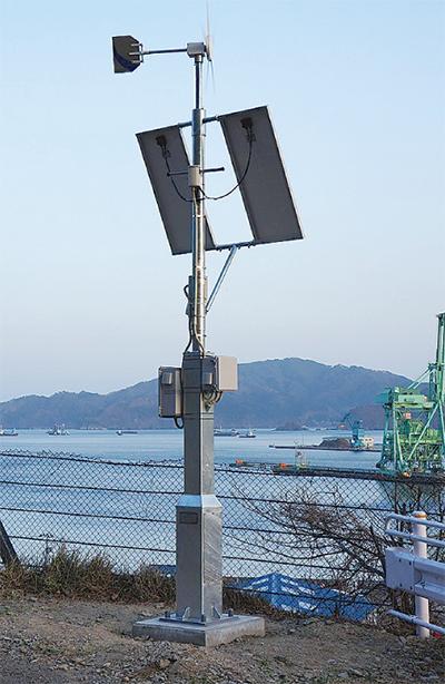 釜石市の復興を配信
