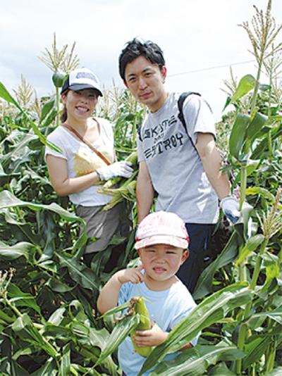 収穫の喜び体験4日で約900人