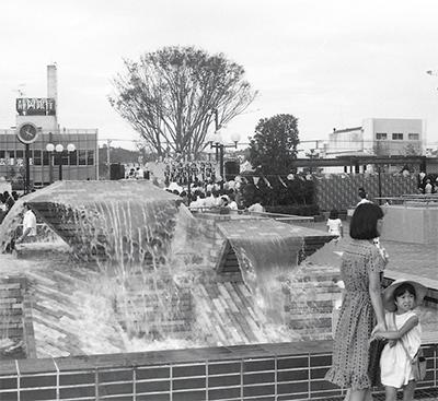 サンパール噴水が撤去