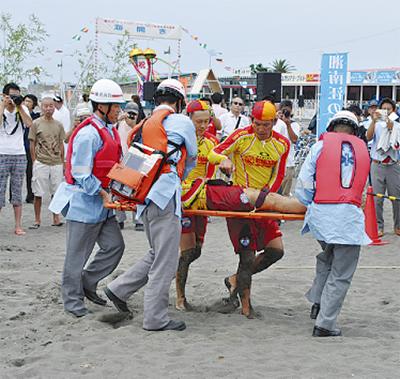 海辺の安全目指し連携