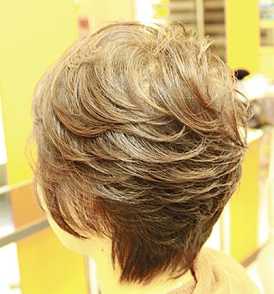髪がイキイキボリュームUP