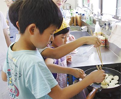 地元食材使い料理教室