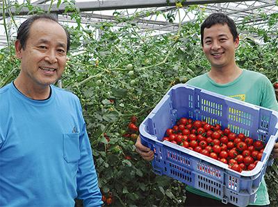 井出トマト農園が名誉賞