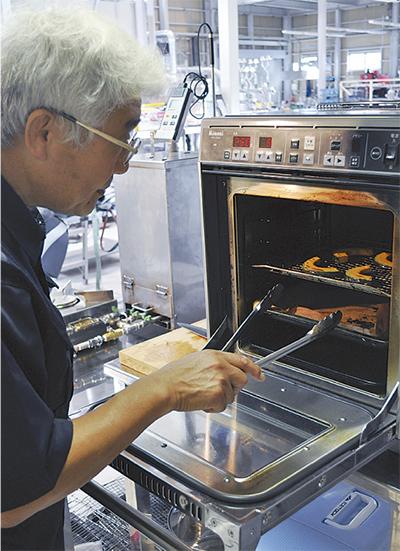 世界初 水素ガスで調理
