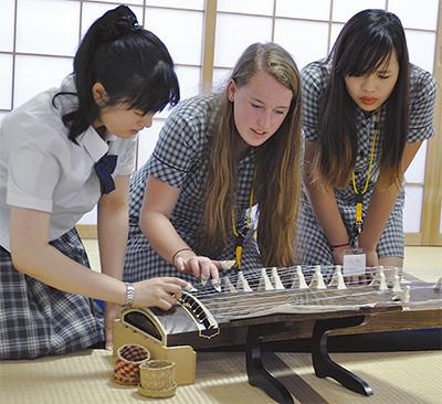 日本文化を通じて交流