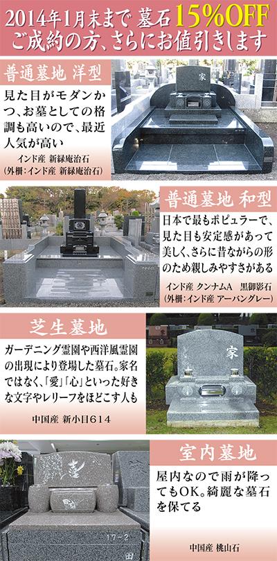 「その人らしさ」刻む墓石