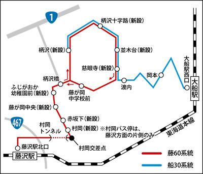 住民の要望で新バス路線