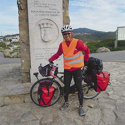 自転車で2万Kmを走破