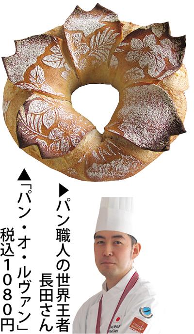 世界王者のパン登場