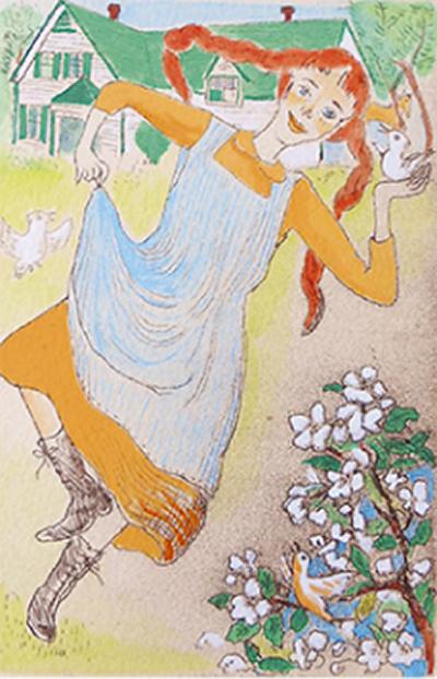 山本容子の銅版画展