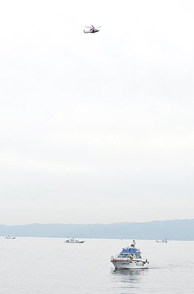 海難事故に迅速対応