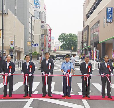 藤沢駅北口通り線が開通