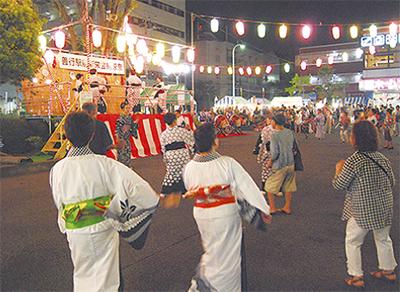 伝統の祭りで地域活性