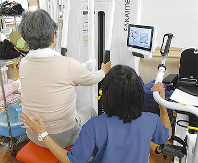 機能訓練マシンの無料開放