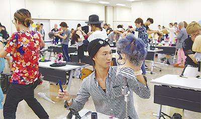 藤沢で理美容師がバトル
