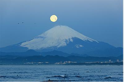江の島が「百名月」に 鑑賞地として認定
