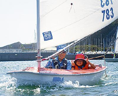 ヨットの楽しさ体験