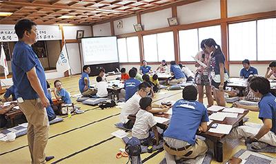 児童が日本の美徳学ぶ