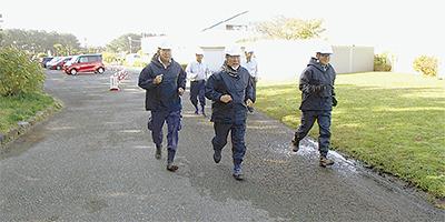 3千人が避難訓練