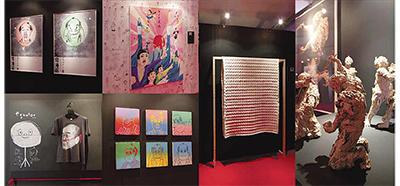 「江戸」と「近未来」のアート展