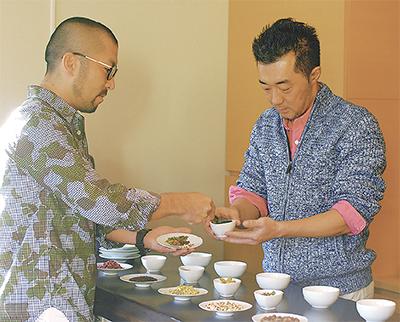 茶師のプライド懸けて「漢方茶」