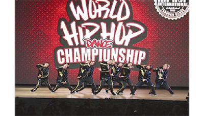 ダンス世界大会で準優勝