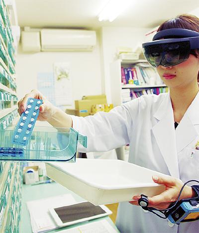 調剤支援システムを実験